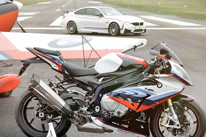 BMW M3 Magny-Cours motorbike package
