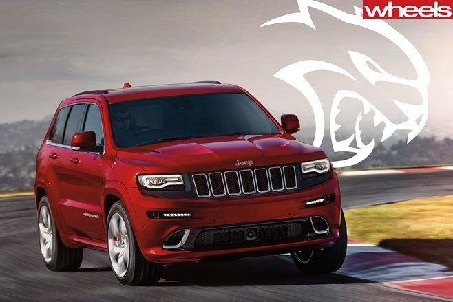 2018 Jeep Hrand Cherokee Trackhawk