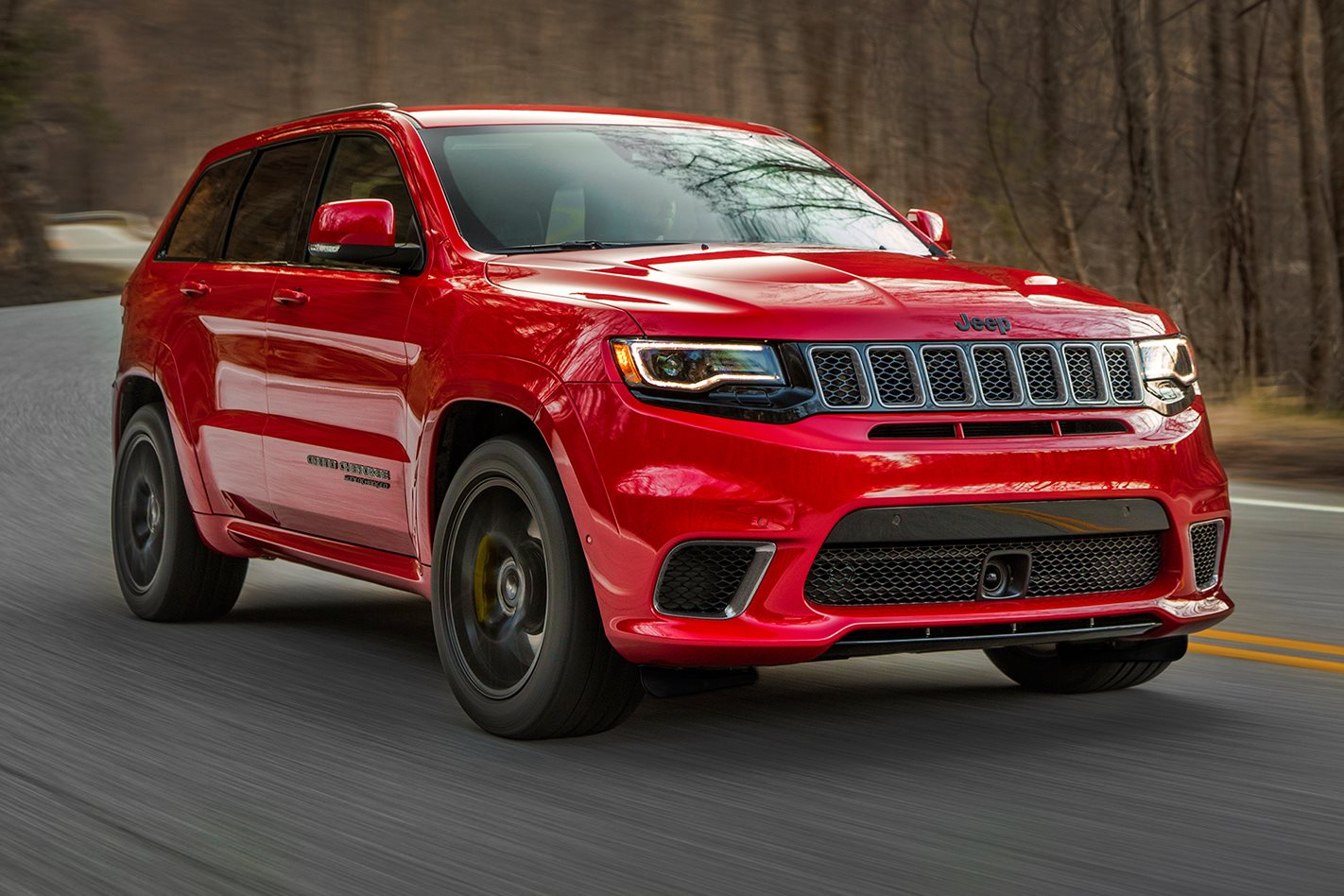 2017 New York Motor Show 2018 Jeep Grand Cherokee