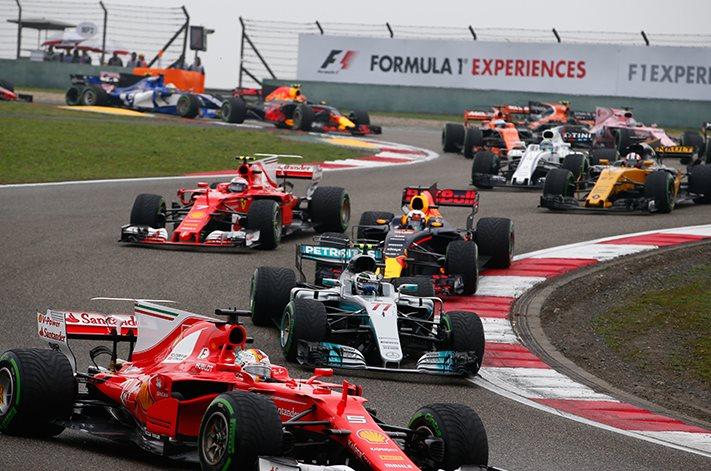 2017 China Formula One