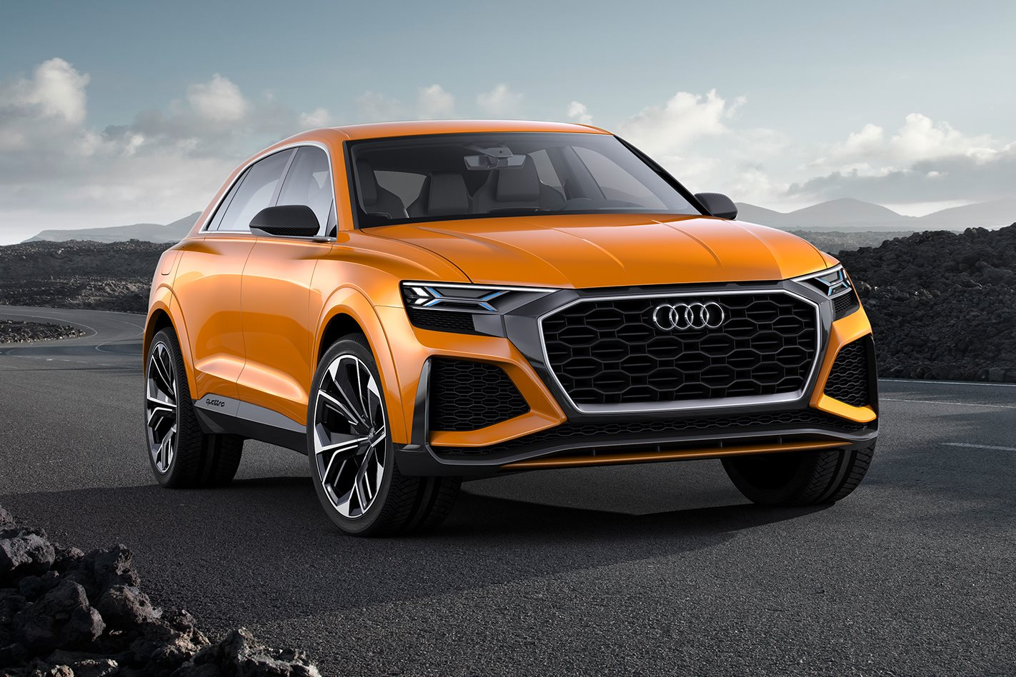 2017 audi q8 2018 audi q4 added to production lines wheels. Black Bedroom Furniture Sets. Home Design Ideas