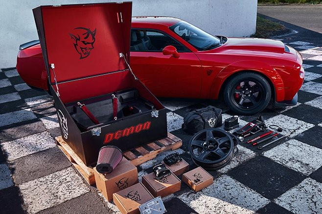New York Motor Show: Dodge Demon debuts, already banned from drag strips