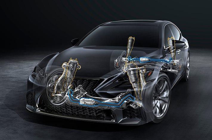 New York Motor Show: 2018 Lexus LS 500 F Sport breaks cover