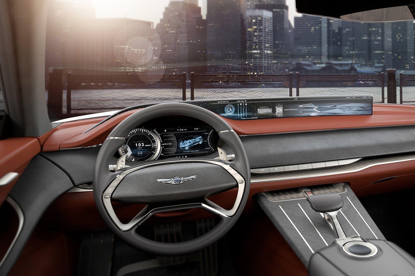 2017 New York Motor Show:  Hyundai GV80 hydrogen fuel cell concept revealed
