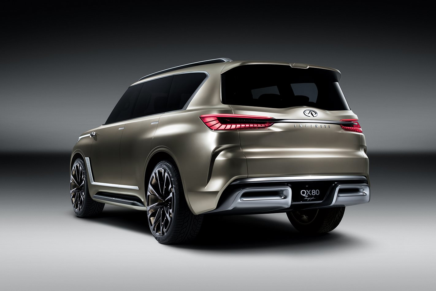 Used Infiniti Qx80 >> Infiniti QX80 concept points to future Infiniti look | Wheels