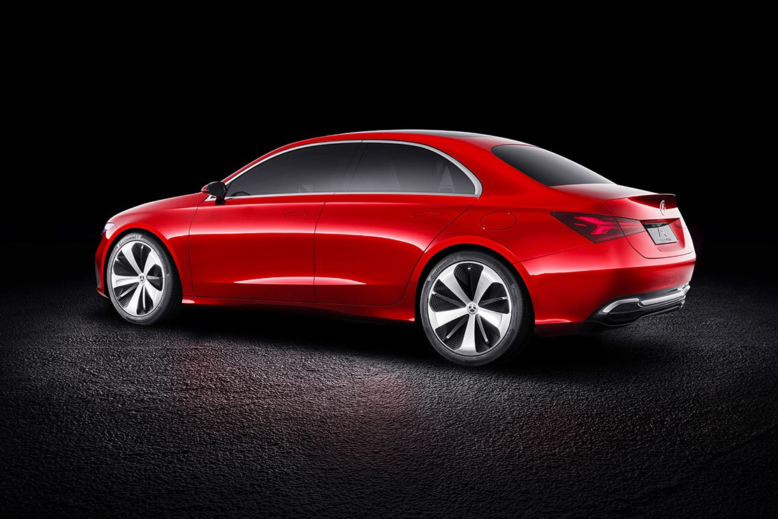 Mercedes benz a class sedan concept revealed in china wheels for What are the different classes of mercedes benz