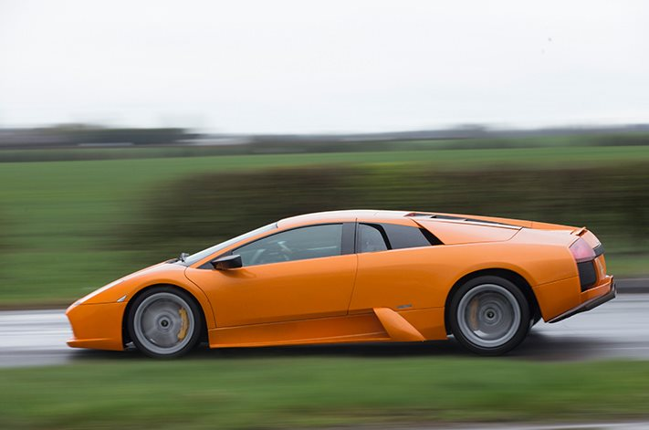 Lamborghini Murcielago with 415.000km on the clock is the ultimate daily driver