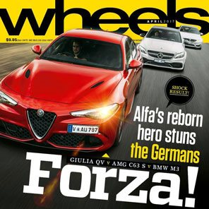 Wheels January 2017 Magazine cover