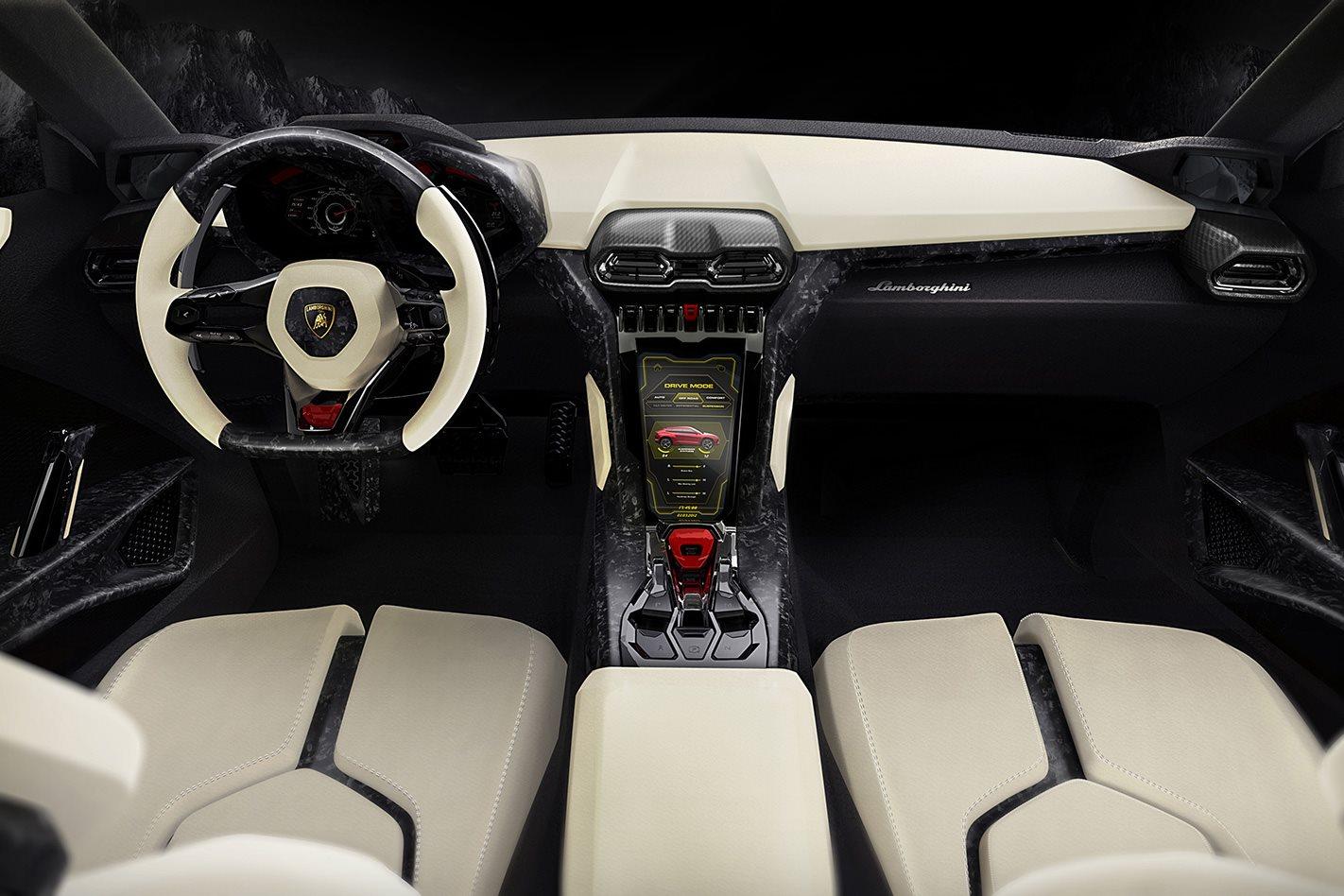 2011 Lamborghini Urus concept interior