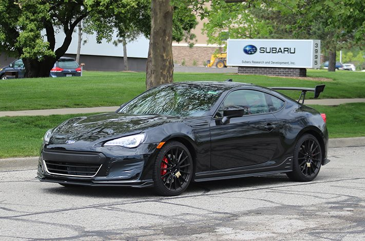 The Subaru BRZ STI is happening