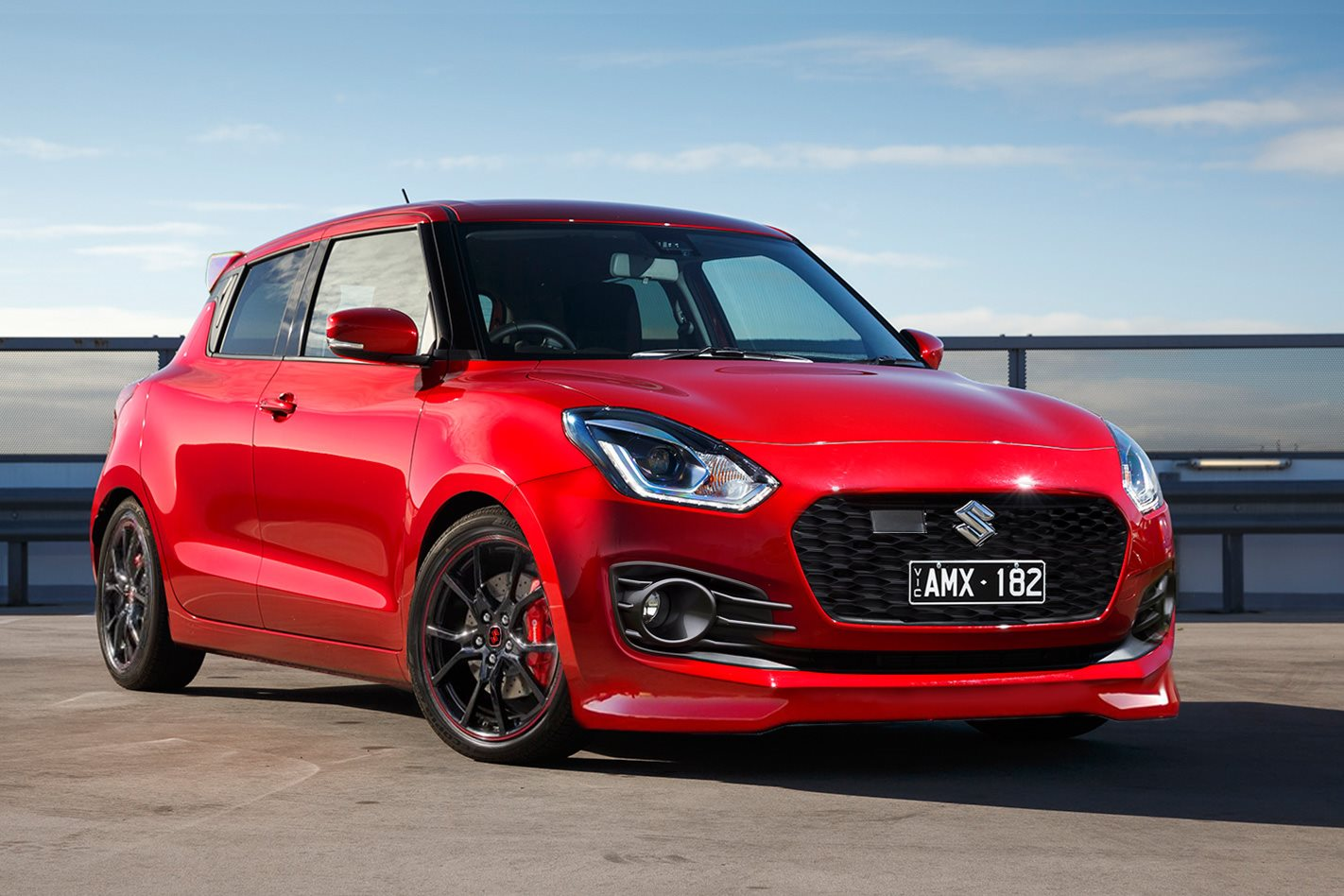 Suzuki Swift Sport Inbound With 1 4 Turbo And Manual Gearbox