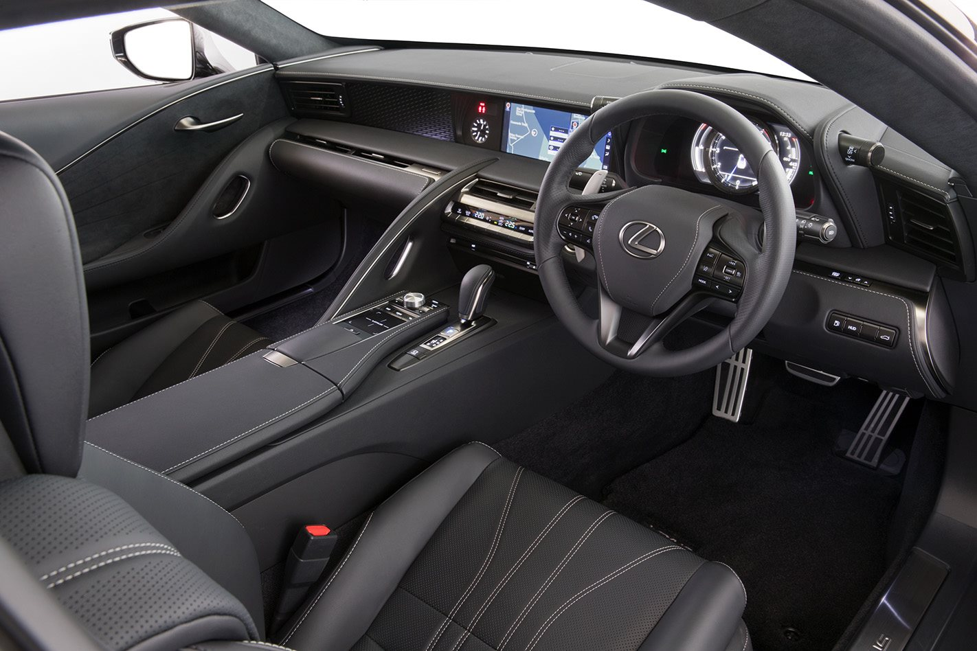 Lexus LC500 interior