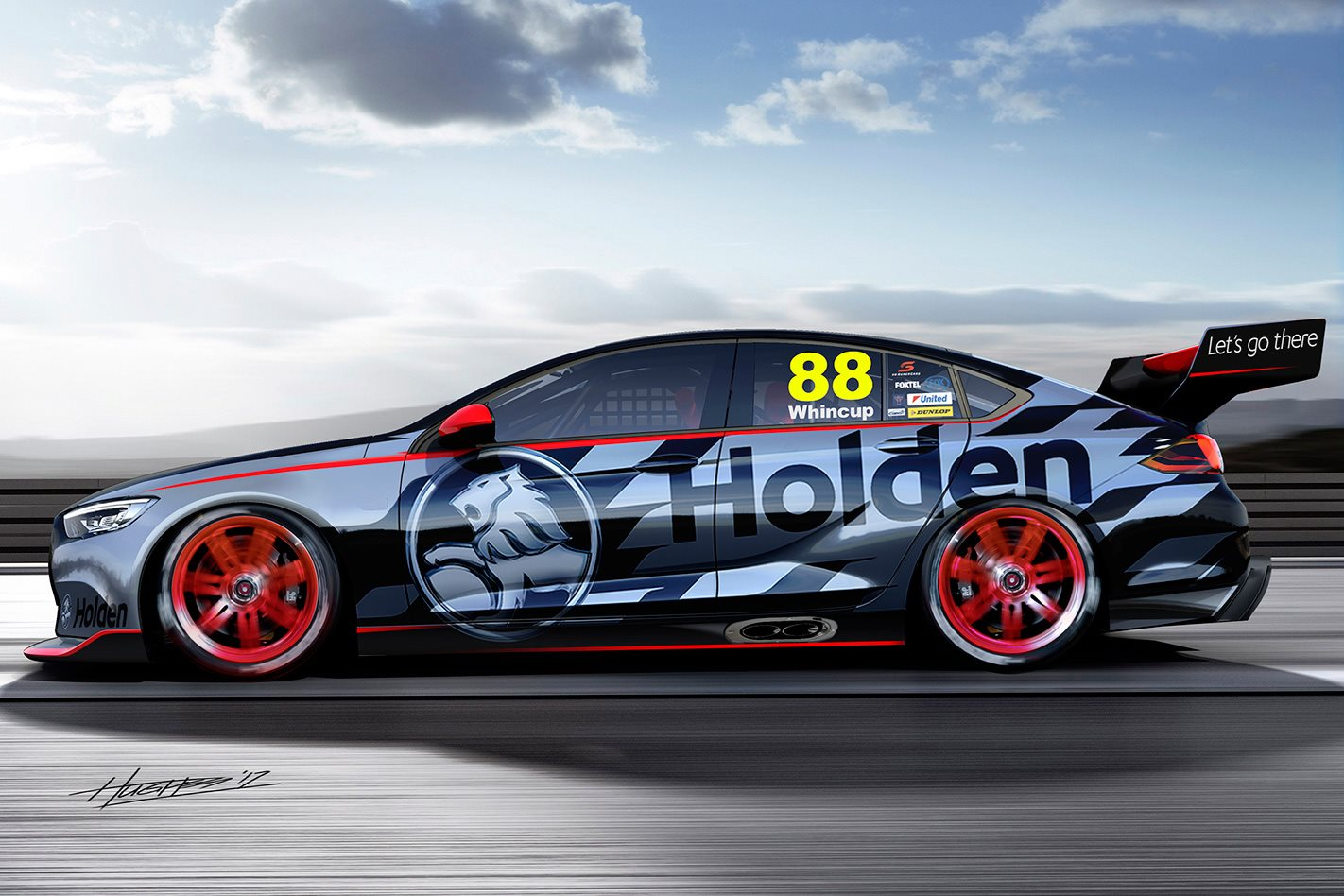 2018 Holden Commodore to get a V8!