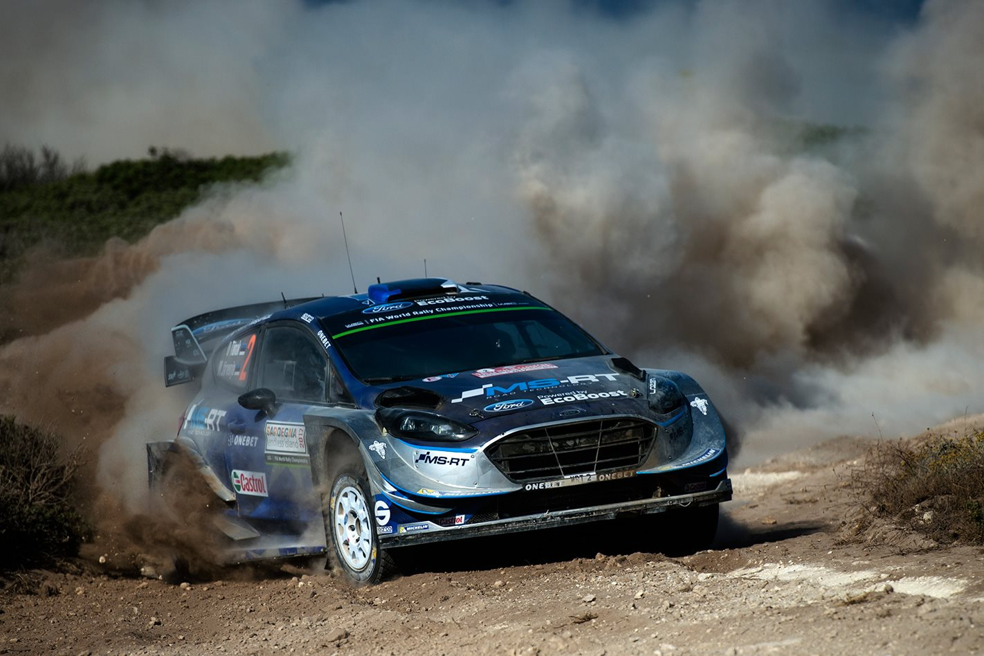 Ott Tanak wins Rally Italia