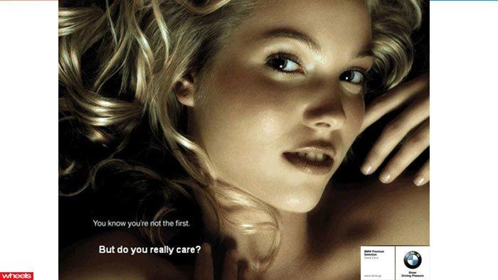 BMW sexist car ad