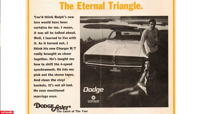 Dodge fever sexist car ad