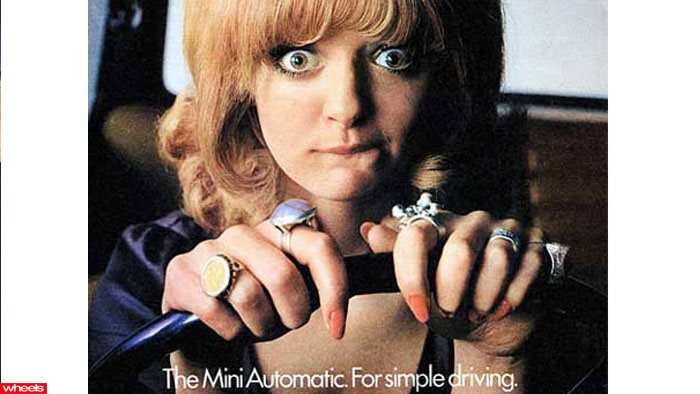 Mini sexist car ad
