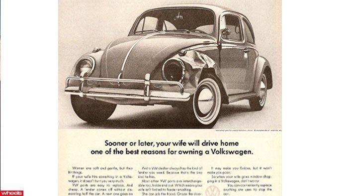 Volkswagen sexist car ad