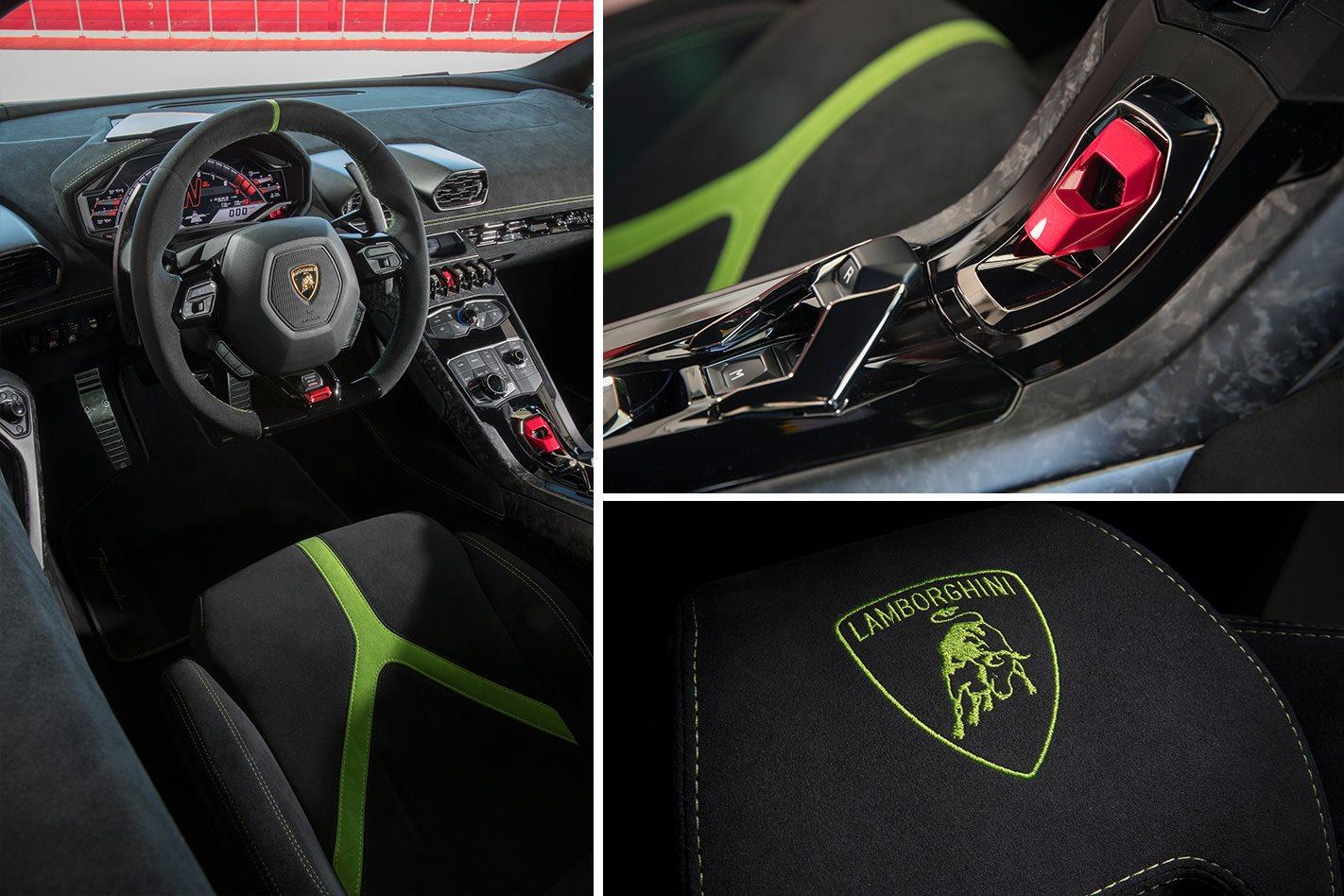 2017 Lamborghini Huracan Performante Air Craft