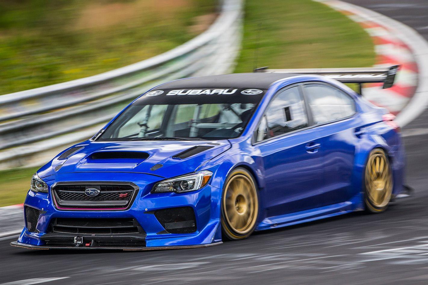 2017 Subaru WRX STi smashes four-door Nurburgring lap record