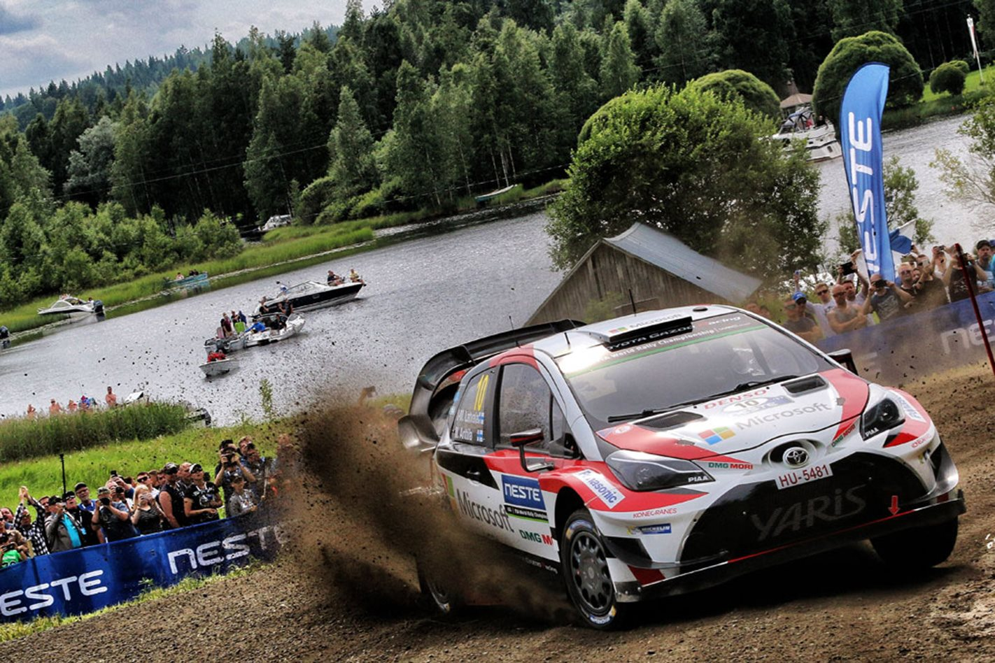 Toyota Gazoo Racing Lappi wins 2017 Rally Finland