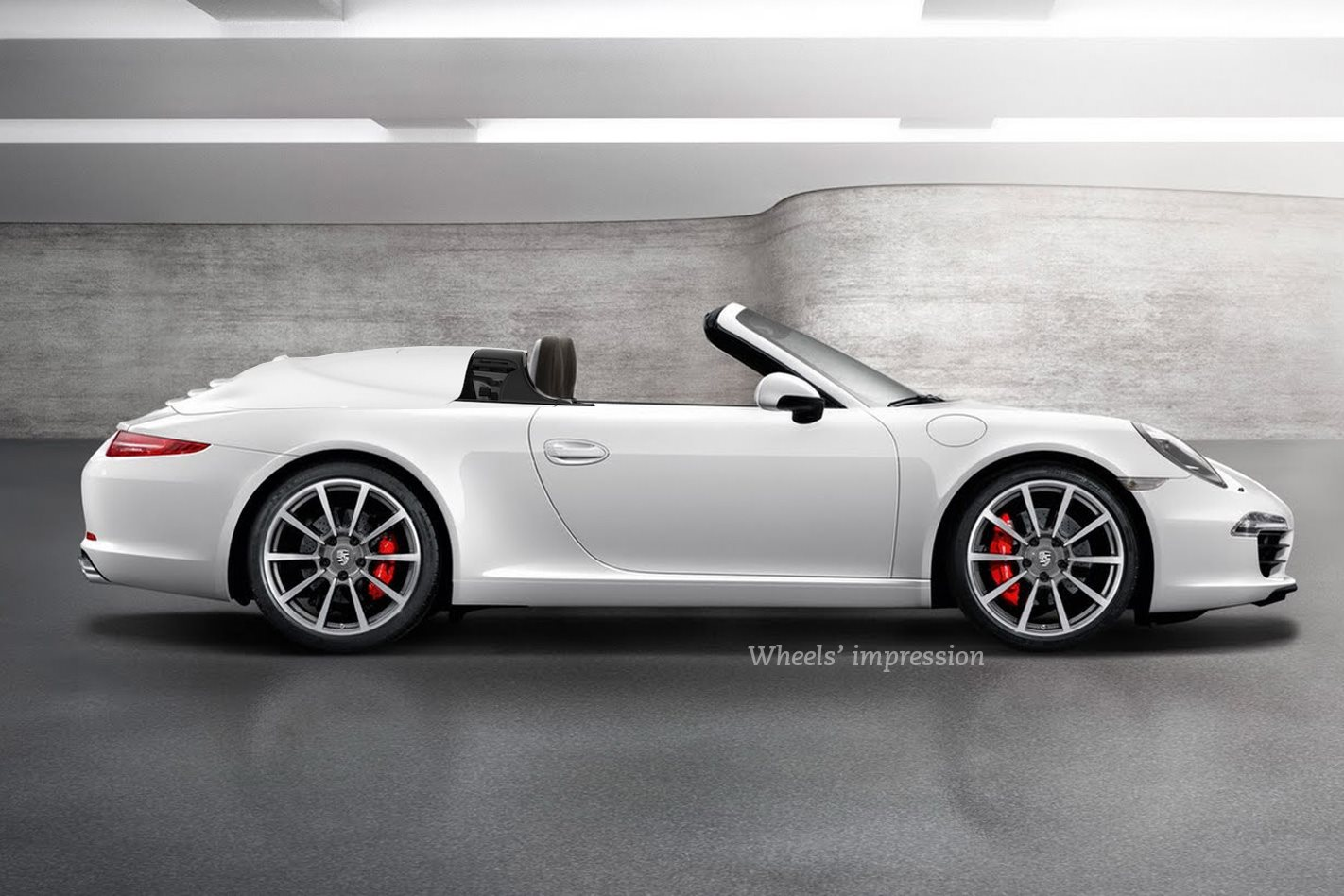 2018 Porsche 911 Speedster Expected At Frankfurt Wheels