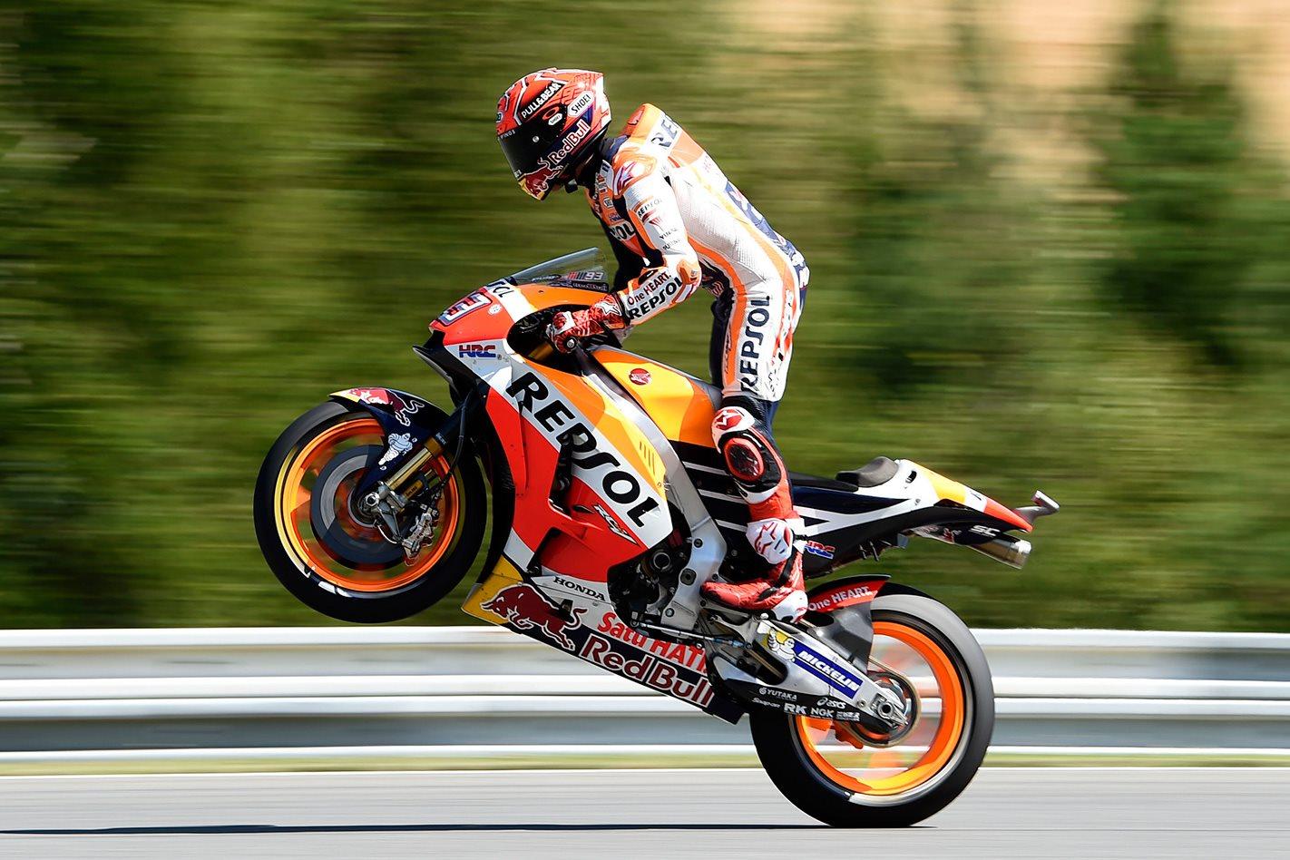 Honda's Marc Marquez wins 2017 Czech MotoGP
