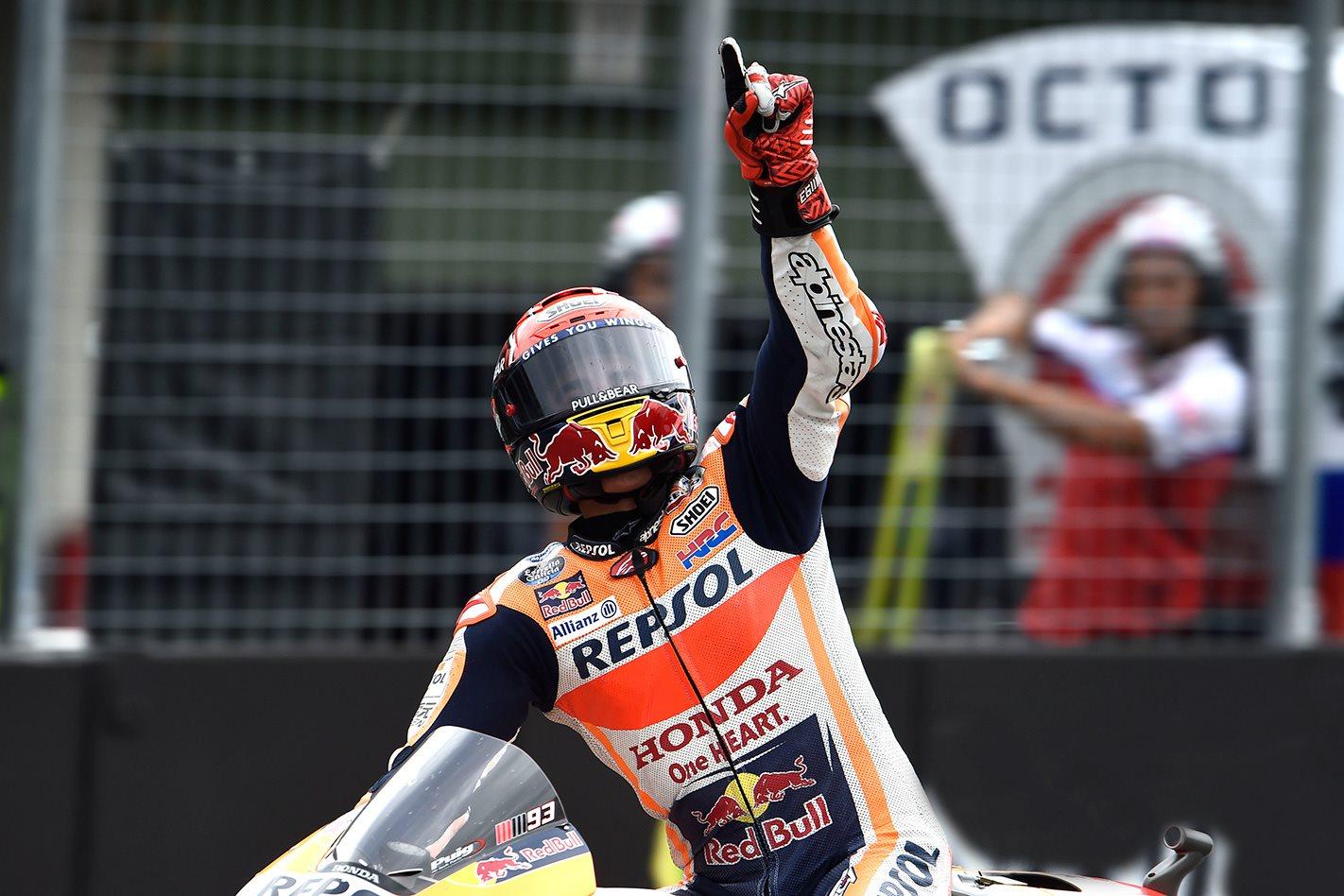Marc Marquez wins 2017 Czech Republic MotoGP