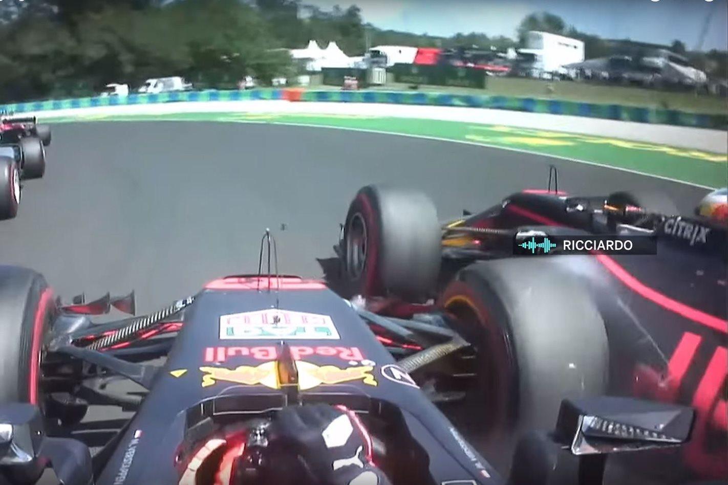 Verstappen versus Ricciardo