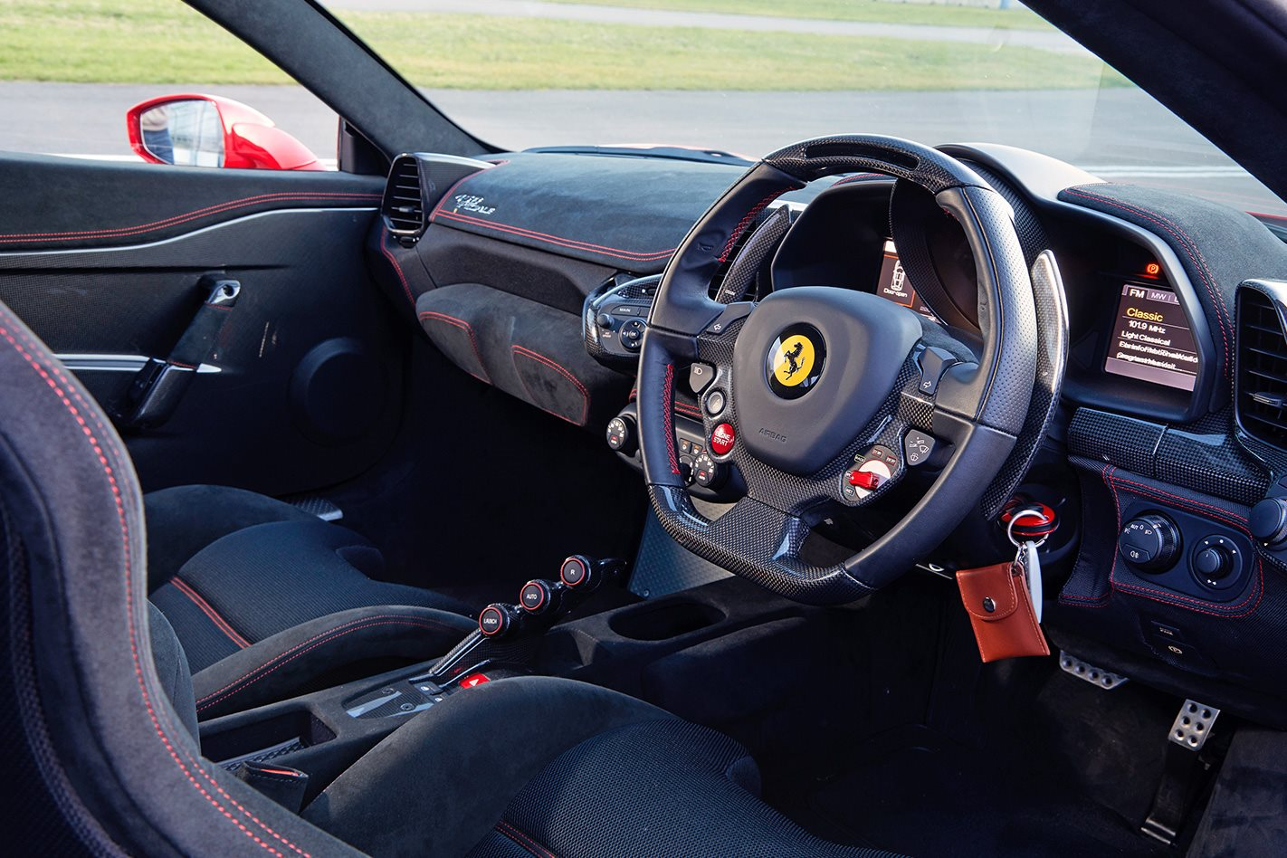 ferrari 458 speciale interior. fortunately enjoying a speciale requires you know nothing of either itu0027s bare in here the dashboard gets handsome alcantara details but floors are ferrari 458 interior