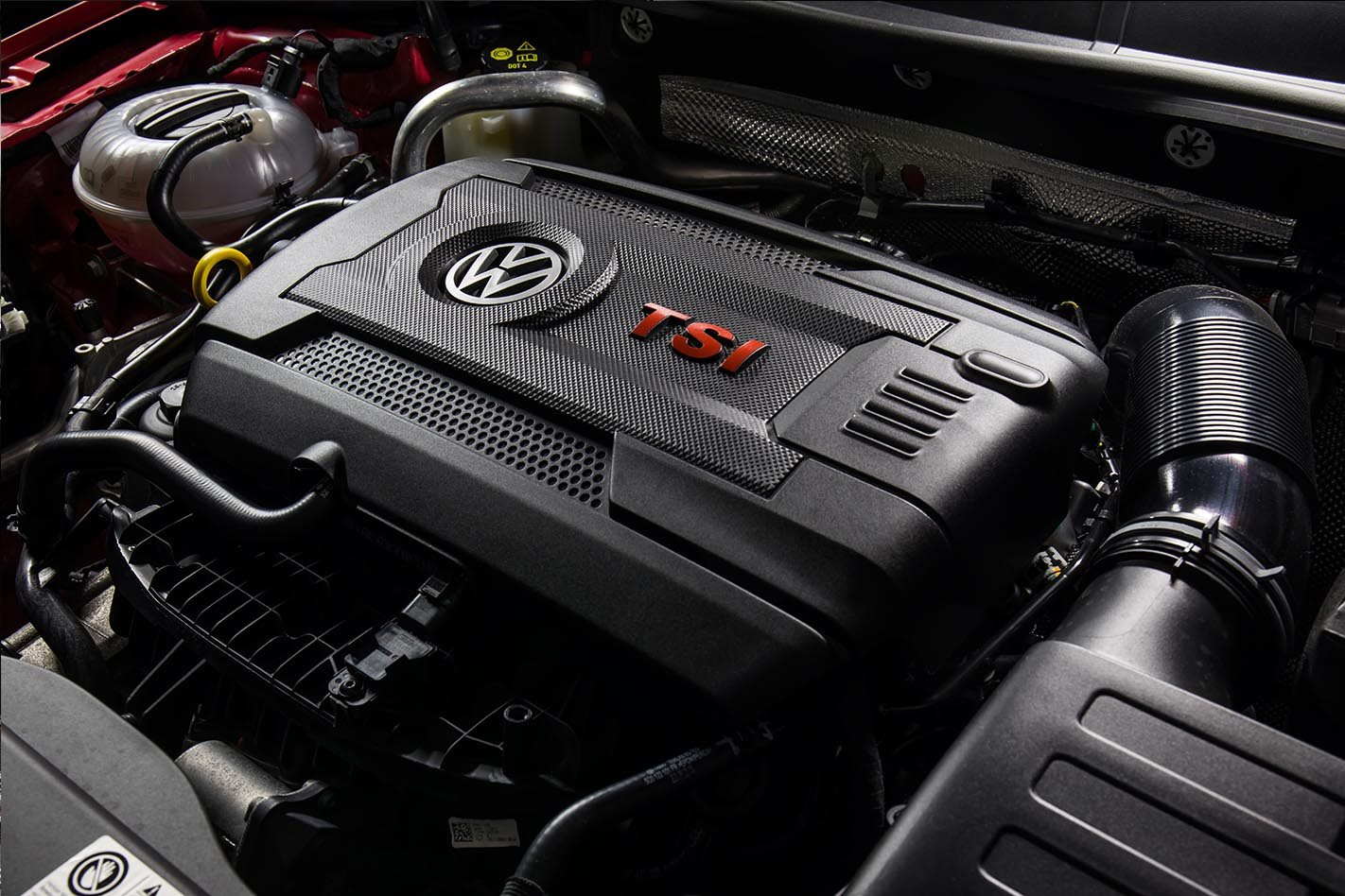 2017 Volkswagen Golf GTI Review engine