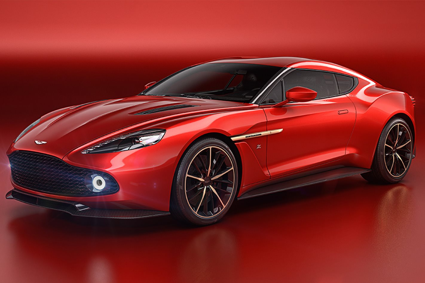 Aston Martin Zagato Speedster front