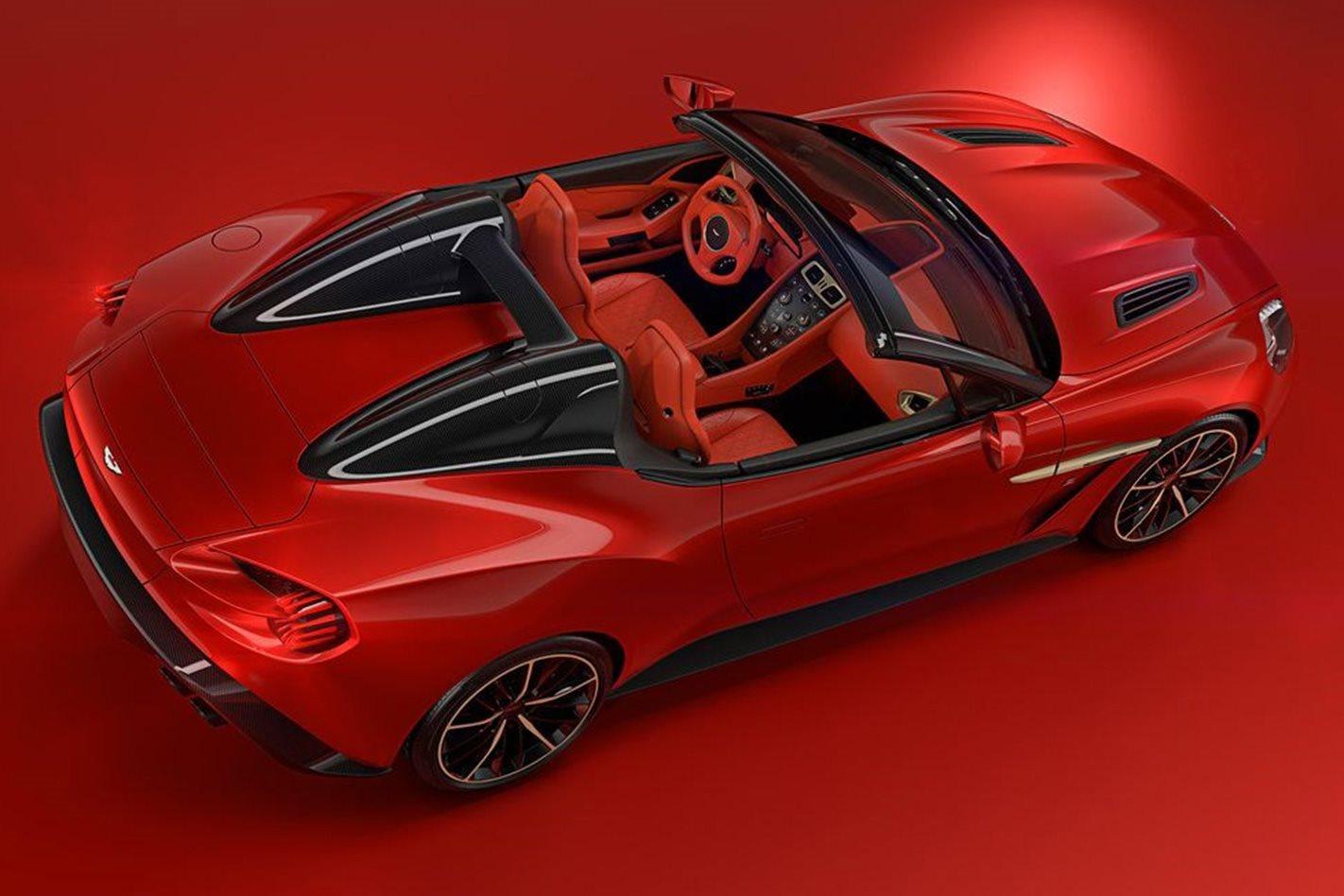 Aston Martin Zagato Speedster rear