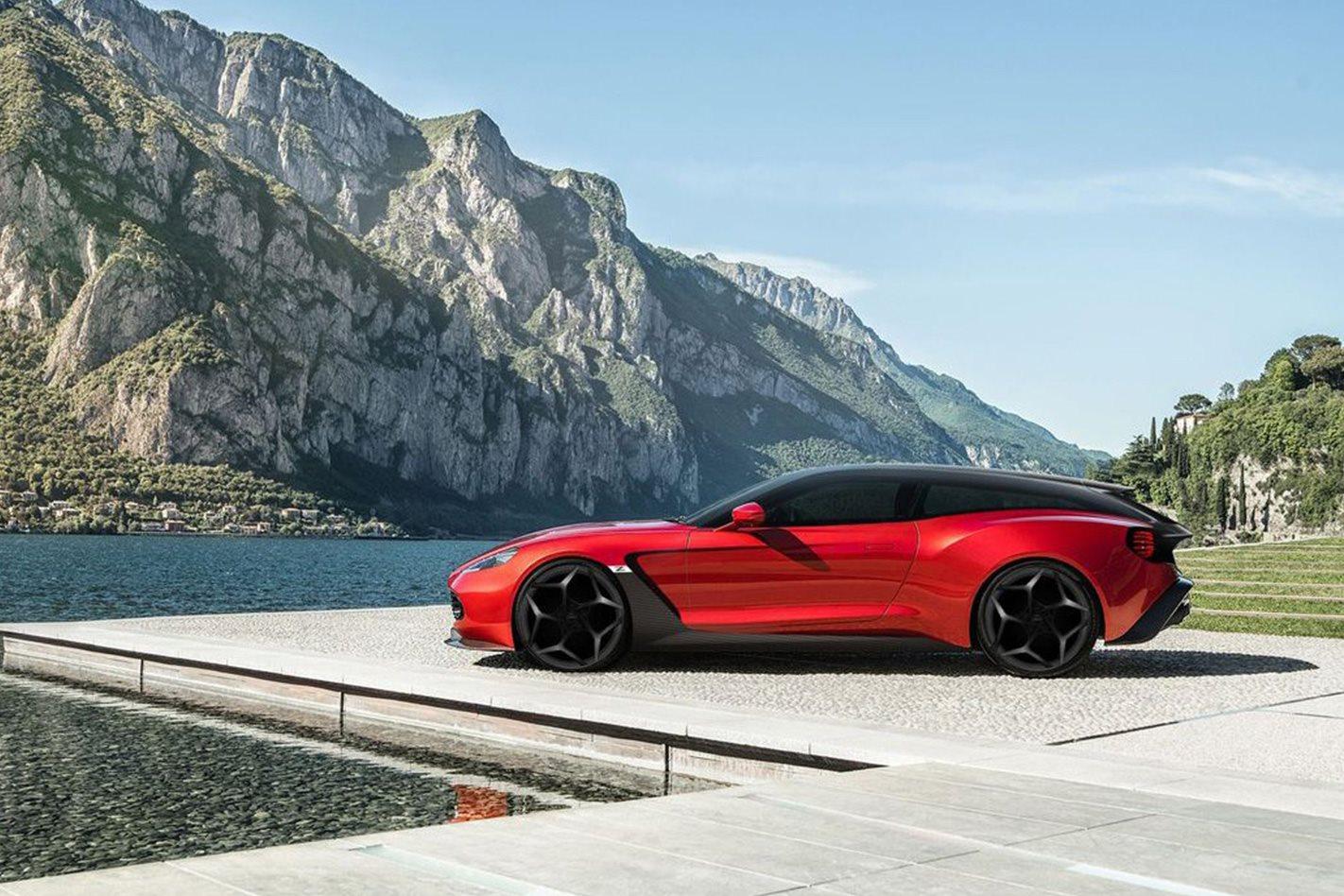 Aston Martin Zagato Speedster side