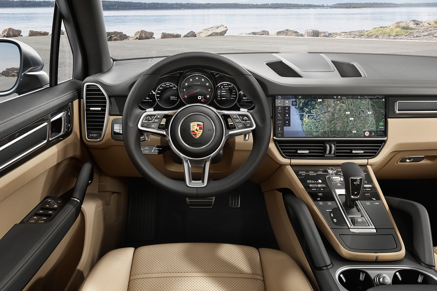 2018 porsche panamera turbo s interior. delighful interior 2018 porsche cayenne s interior revealed to porsche panamera turbo s