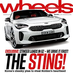 Wheels May 2017 Magazine cover