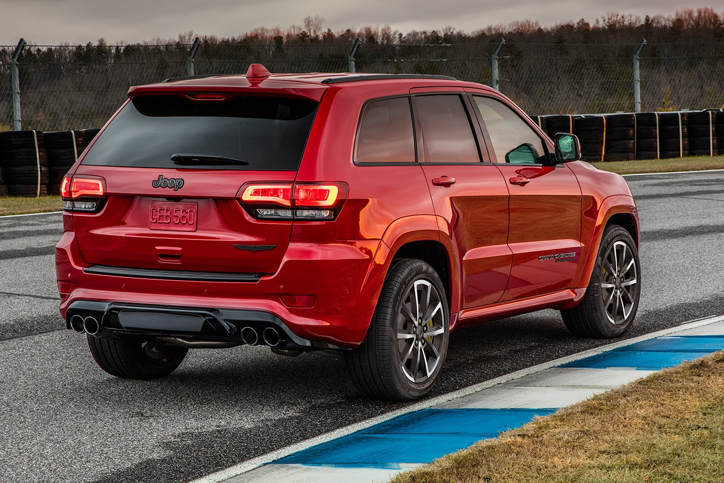 2018 Jeep Grand Cherokee Trackhawk arrives in December