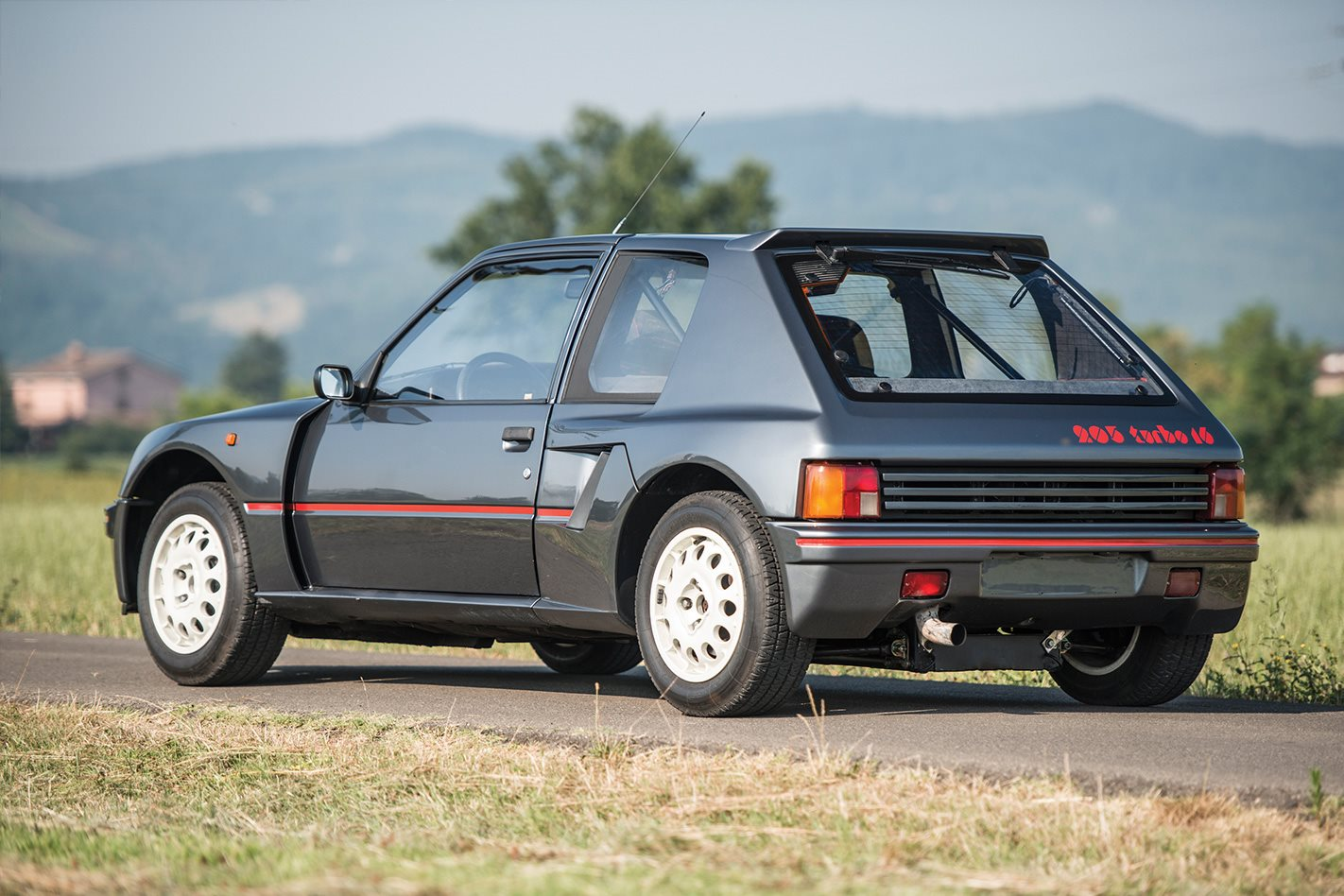 retro 1984 peugeot 205 turbo 16 forest thump wheels. Black Bedroom Furniture Sets. Home Design Ideas