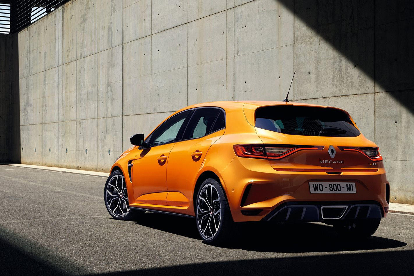 2018 renault megane rs unveiled with 205kw 1 8 litre. Black Bedroom Furniture Sets. Home Design Ideas