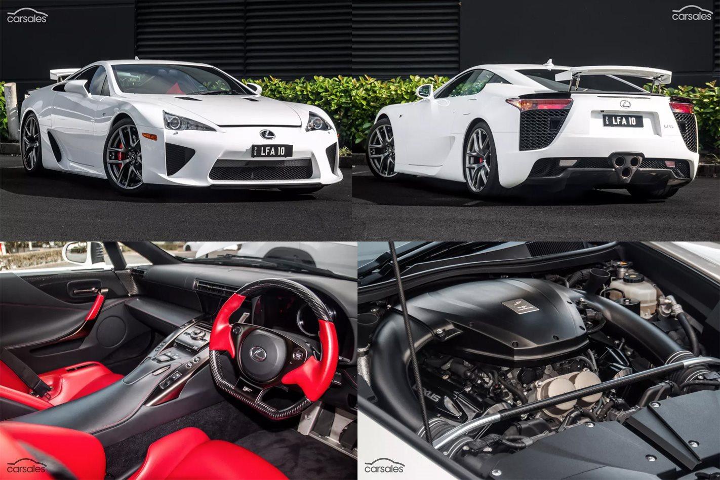 Lexus Lfa For Sale >> Lexus LFA for sale in Australia with $1m+ price tag