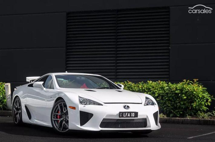 Lexus lfa australia