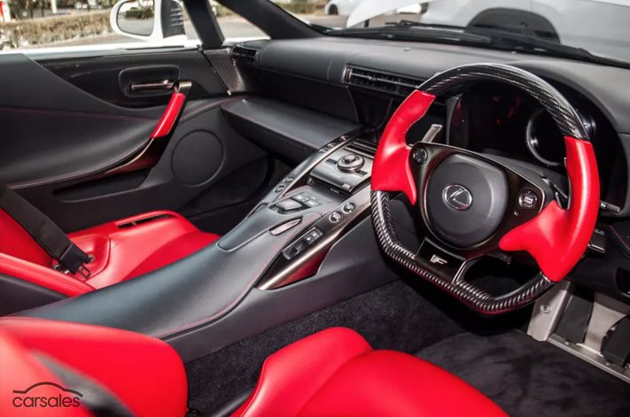 Lexus LFA Interior | Wheels Magazine