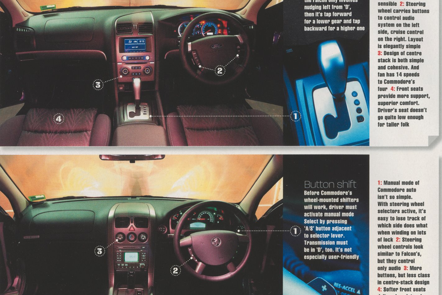 2004 Holden Commodore: Battle of the 6ixes