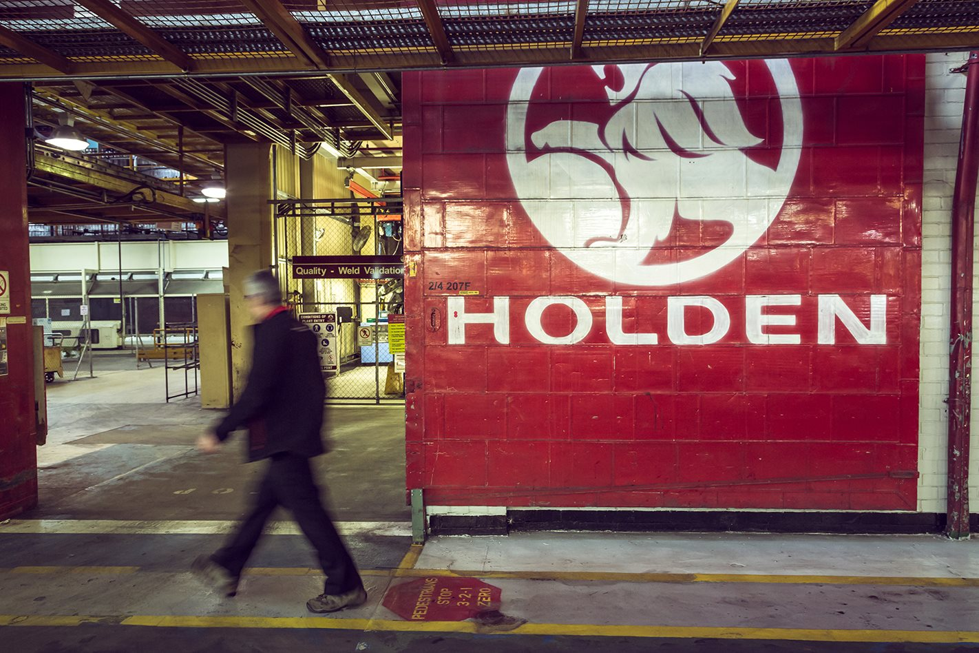 Holden closure