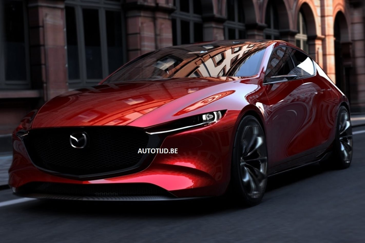 2017 Tokyo Motor Show 2018 Mazda 3 Images Leaked Ahead Of Official