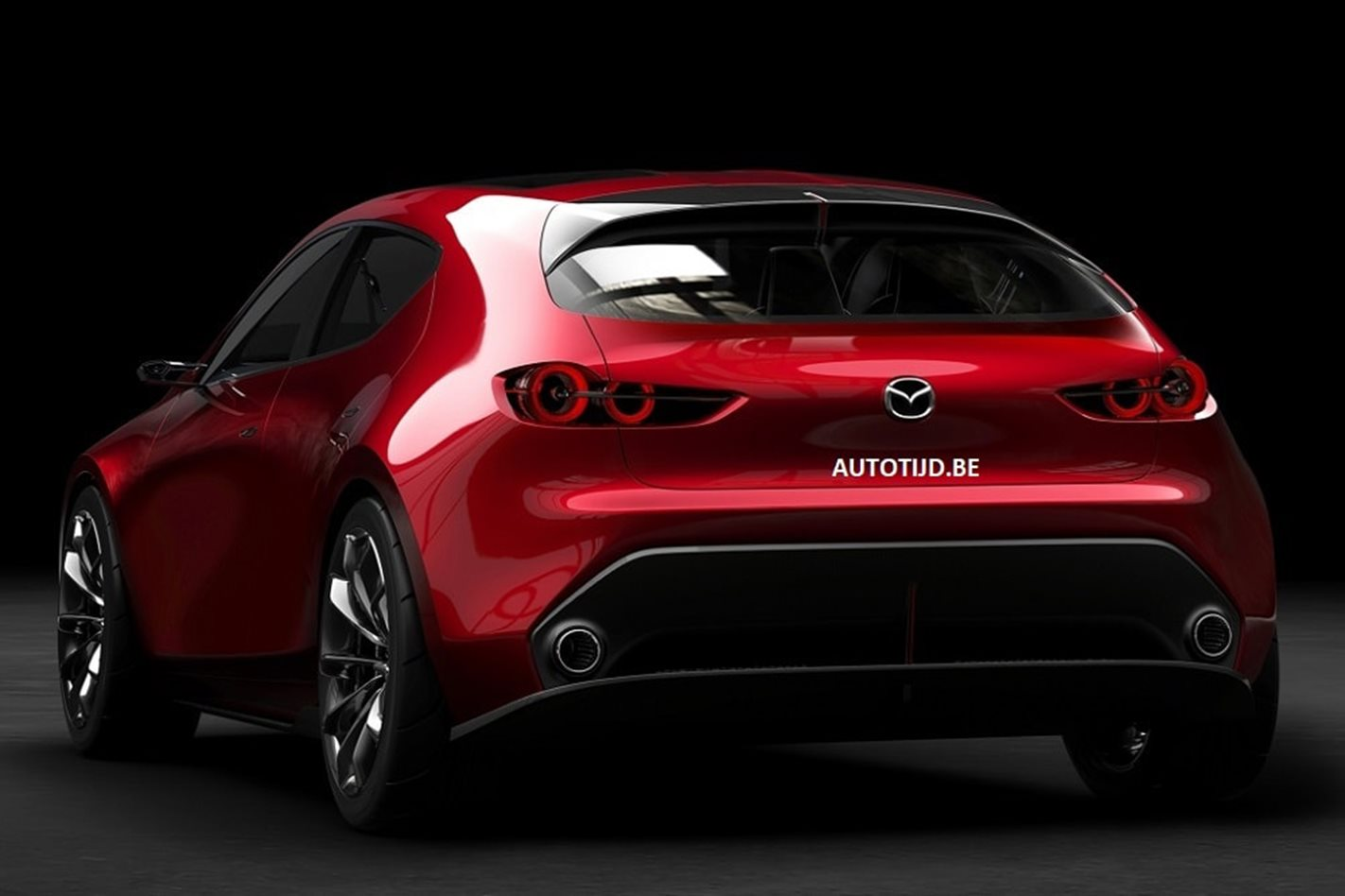 2017 tokyo motor show 2018 mazda 3 images leaked ahead of