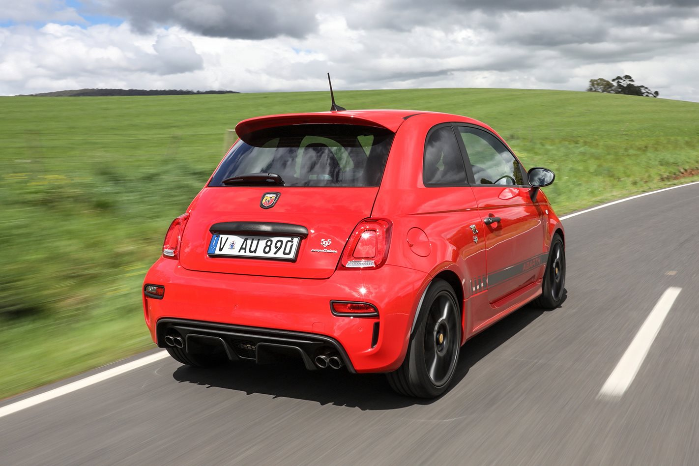 2018 abarth 595 competizione review. Black Bedroom Furniture Sets. Home Design Ideas