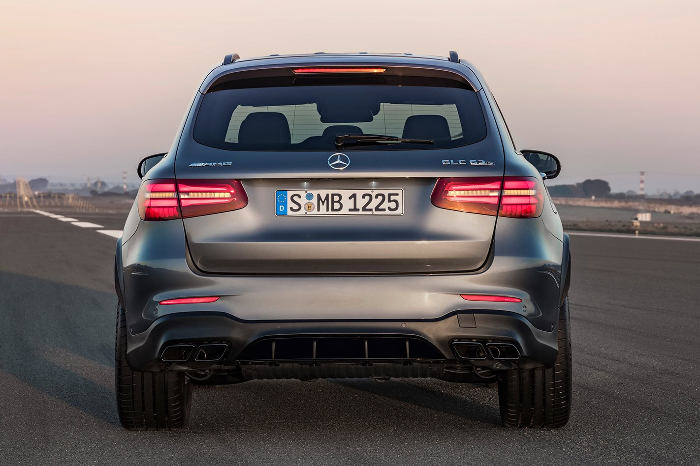2018 Mercedes AMG GLC 63 S rear park