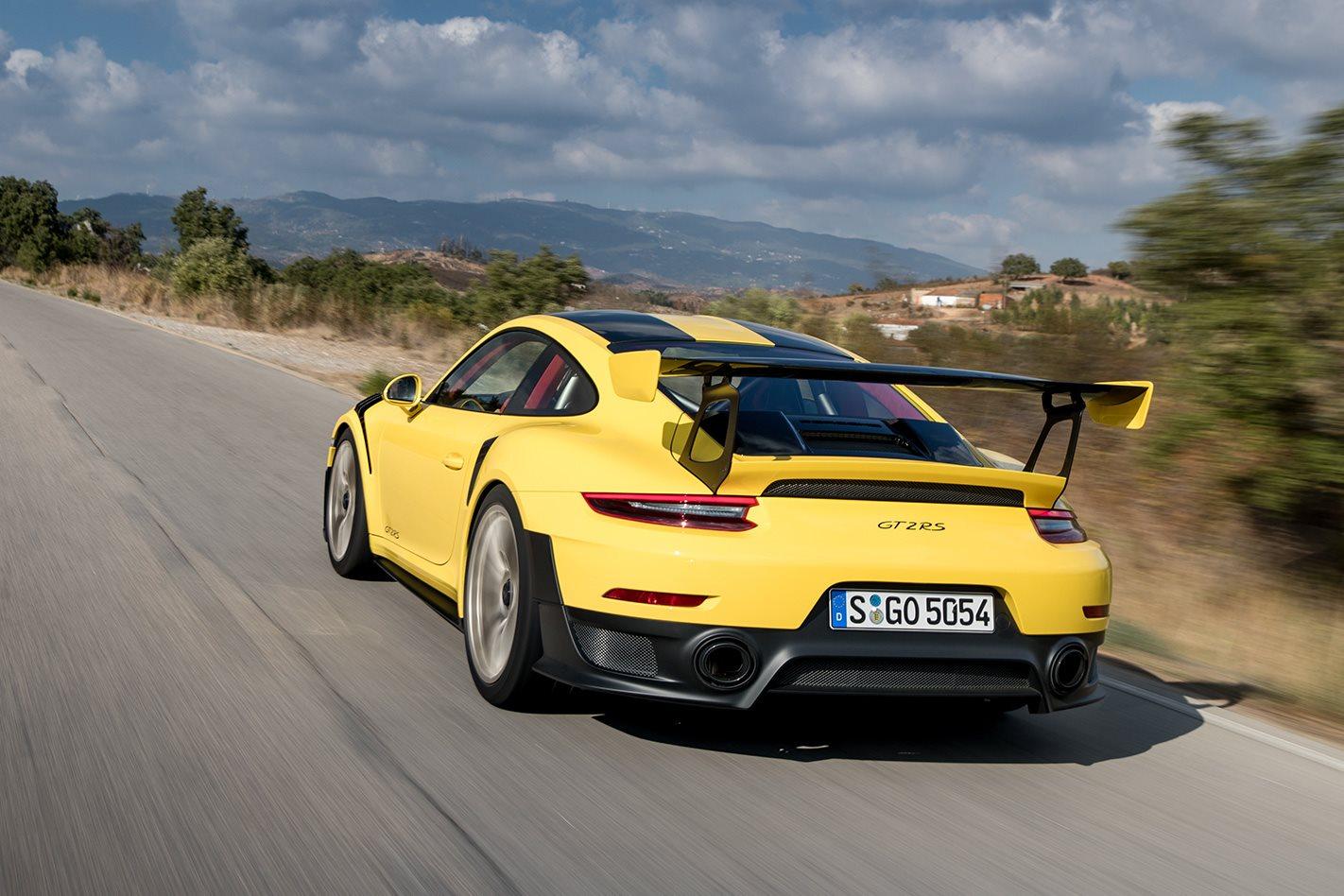 2018 Porsche 911 GT2 RS rear