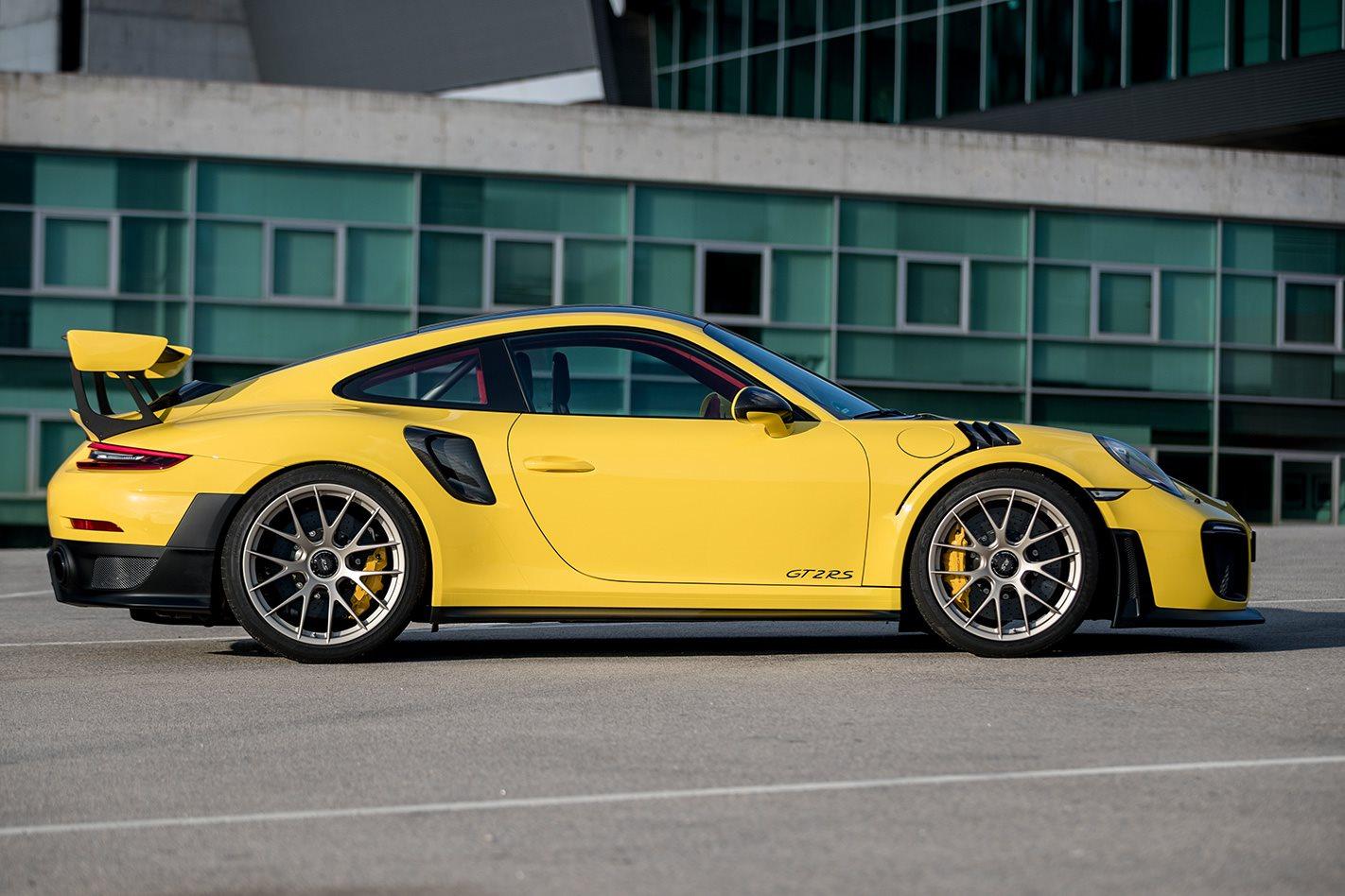 2018 Porsche 911 GT2 RS side